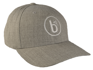Premium Heathered Gray Snapback Hat