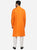 Bright Orange Kurta Set for Men