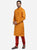 Mustard Orange Kurta Set
