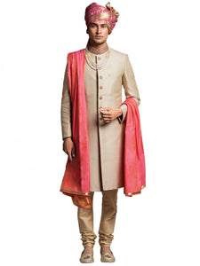 Light Golden Sherwani