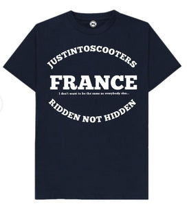 FRANCE SCOOTER T-SHIRT