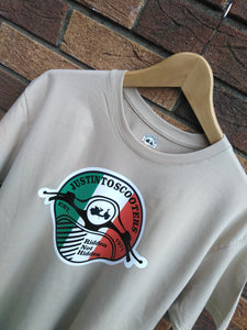 JUSTINTOSCOOTERS ITALIAN LOGO T-SHIRT