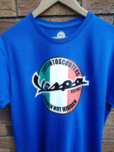 Load image into Gallery viewer, VESPA ITALIAN LOGO T-SHIRT