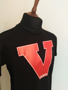 VESPA IVY RED T-SHIRT