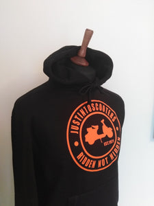 JUSTINTOSCOOTERS CLASSIC HOODIE