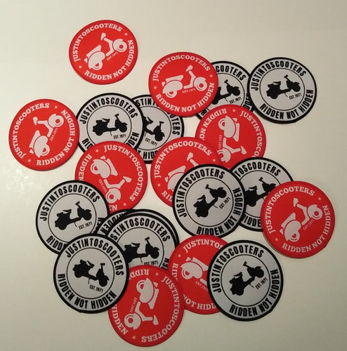JUSTINTOSCOOTERS LOGO PATCHES