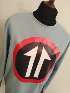 SPLIT ARROW SWEATSHIRT