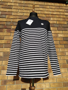 CAPRI LONG SLEEVE STRIPED T-SHIRT