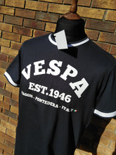Load image into Gallery viewer, VESPA TIPPED T-SHIRT