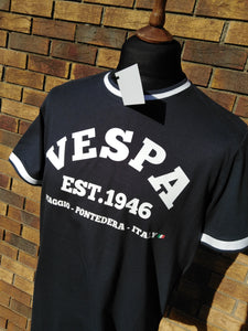 VESPA TIPPED T-SHIRT