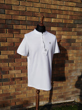 Load image into Gallery viewer, JUSTINTOSCOOTERS STAND COLLAR POLO SHIRT