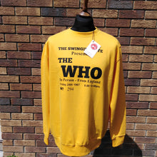 Load image into Gallery viewer, THE WHO 294 TICKET SWEATSHIRT