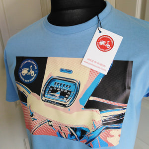 ACMA POP ART SCOOTER T-SHIRT