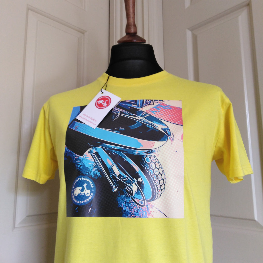 FENDER POP ART SCOOTER T-SHIRT