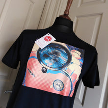 Load image into Gallery viewer, HEADLIGHT POP ART SCOOTER T-SHIRT