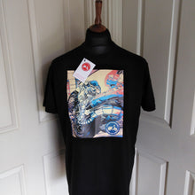 Load image into Gallery viewer, ENGINE POP ART SCOOTER T-SHIRT