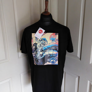 ENGINE POP ART SCOOTER T-SHIRT