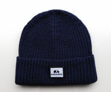 Load image into Gallery viewer, KNIT RIB JUSTINTOSCOOTERS BEANIE