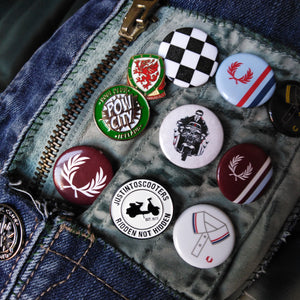 METAL PIN BADGE