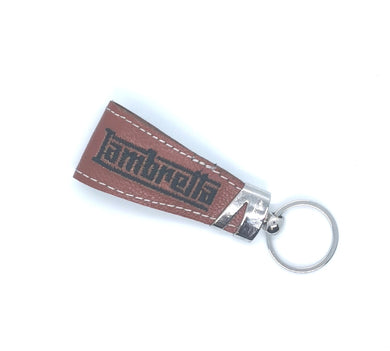 LAMBRETTA ITALIAN LEATHER SCOOTER KEYRING