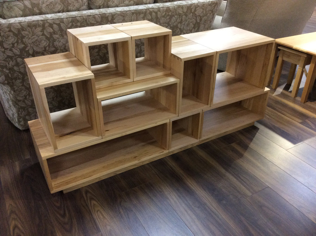 Solid Maple Stereo Console System