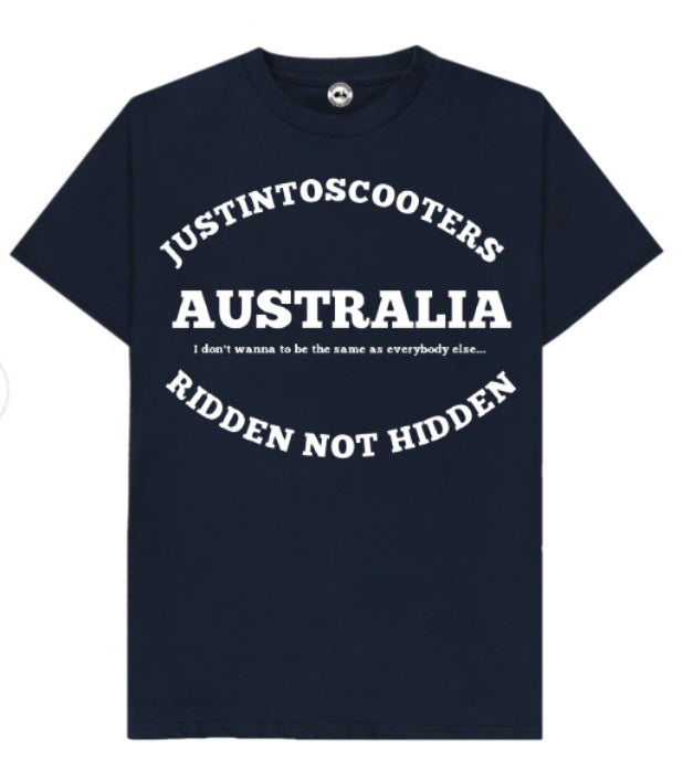 AUSTRALIA SCOOTER T-SHIRT