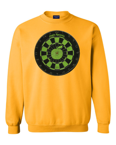 DARTS + APPLES SWEATSHIRTS