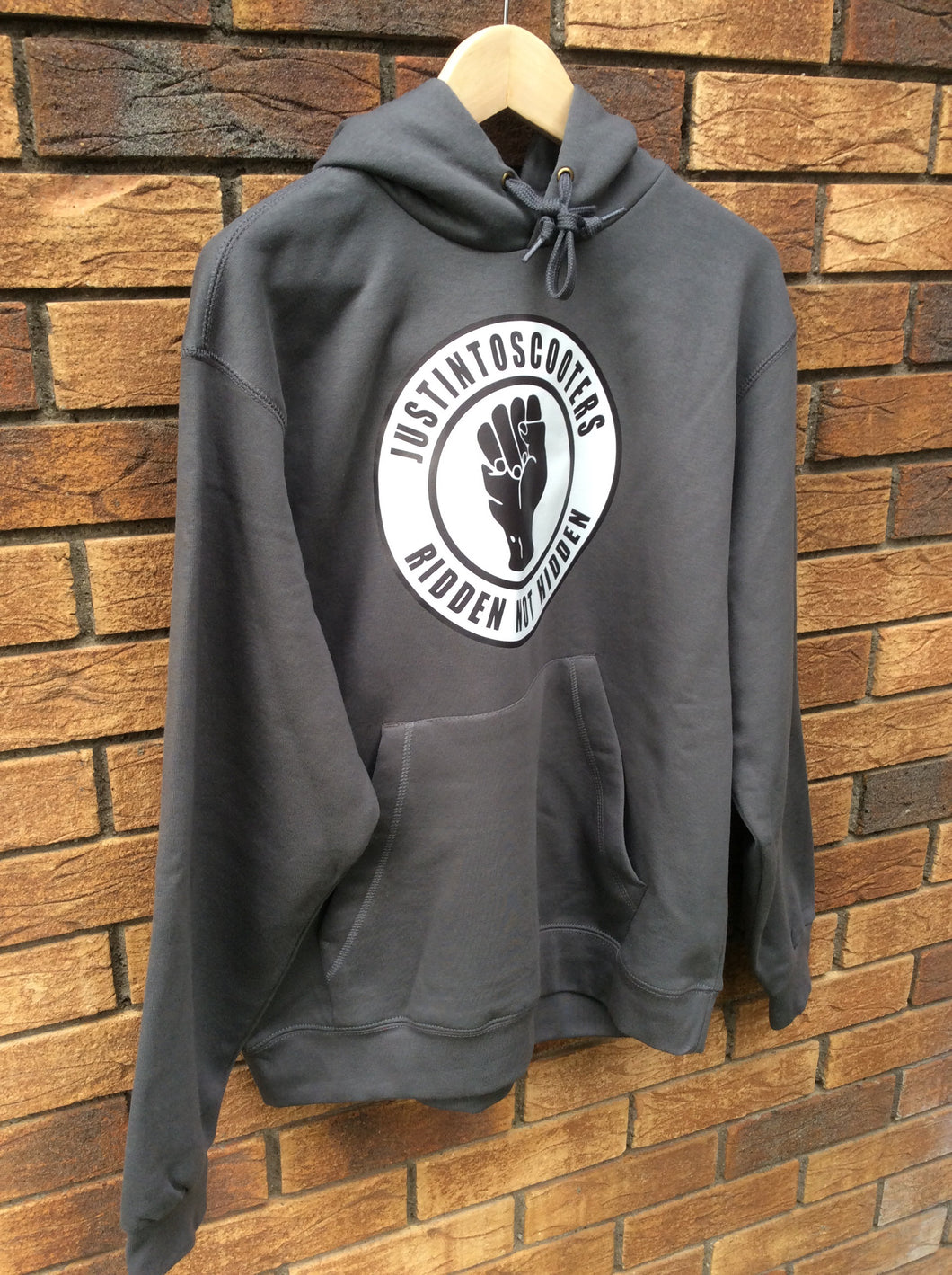 Justintoscooters Northern Soul Logo Hoodie