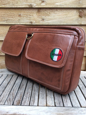 ITALIAN LEATHER GLOVE BOX BAG