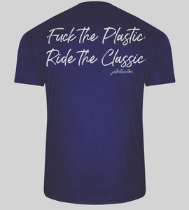 FUCK THE PLASTIC T-SHIRT