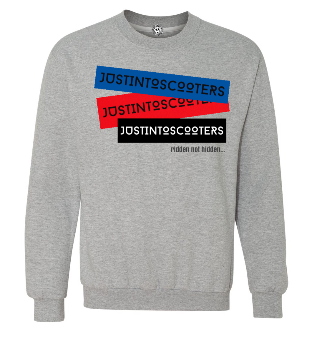 JUSTINTOSCOOTERS COLOURS SWEATSHIRT