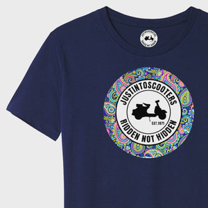 PAISLEY JUSTINTOSCOOTERS T-SHIRT