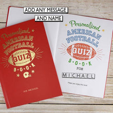 Load image into Gallery viewer, American Football Quiz Book - IsleOfGifts
