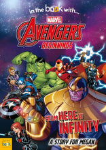 Load image into Gallery viewer, Avengers Beginnings from Here to Infinity Personalized Marvel Story Book - IsleOfGifts
