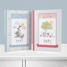 Load image into Gallery viewer, Personalized Baby Record Book - IsleOfGifts