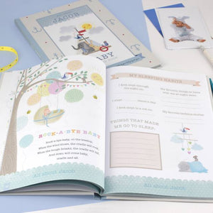 Personalized Baby Record Book - IsleOfGifts