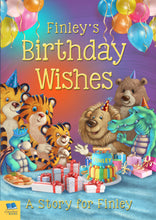 Load image into Gallery viewer, Birthday Wishes Personalized Book - IsleOfGifts