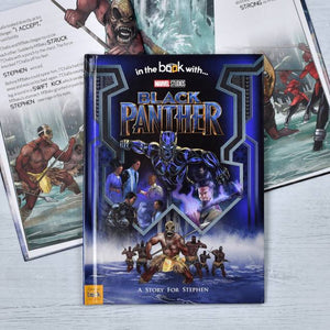 Black Panther Personalized Marvel Story Book - IsleOfGifts