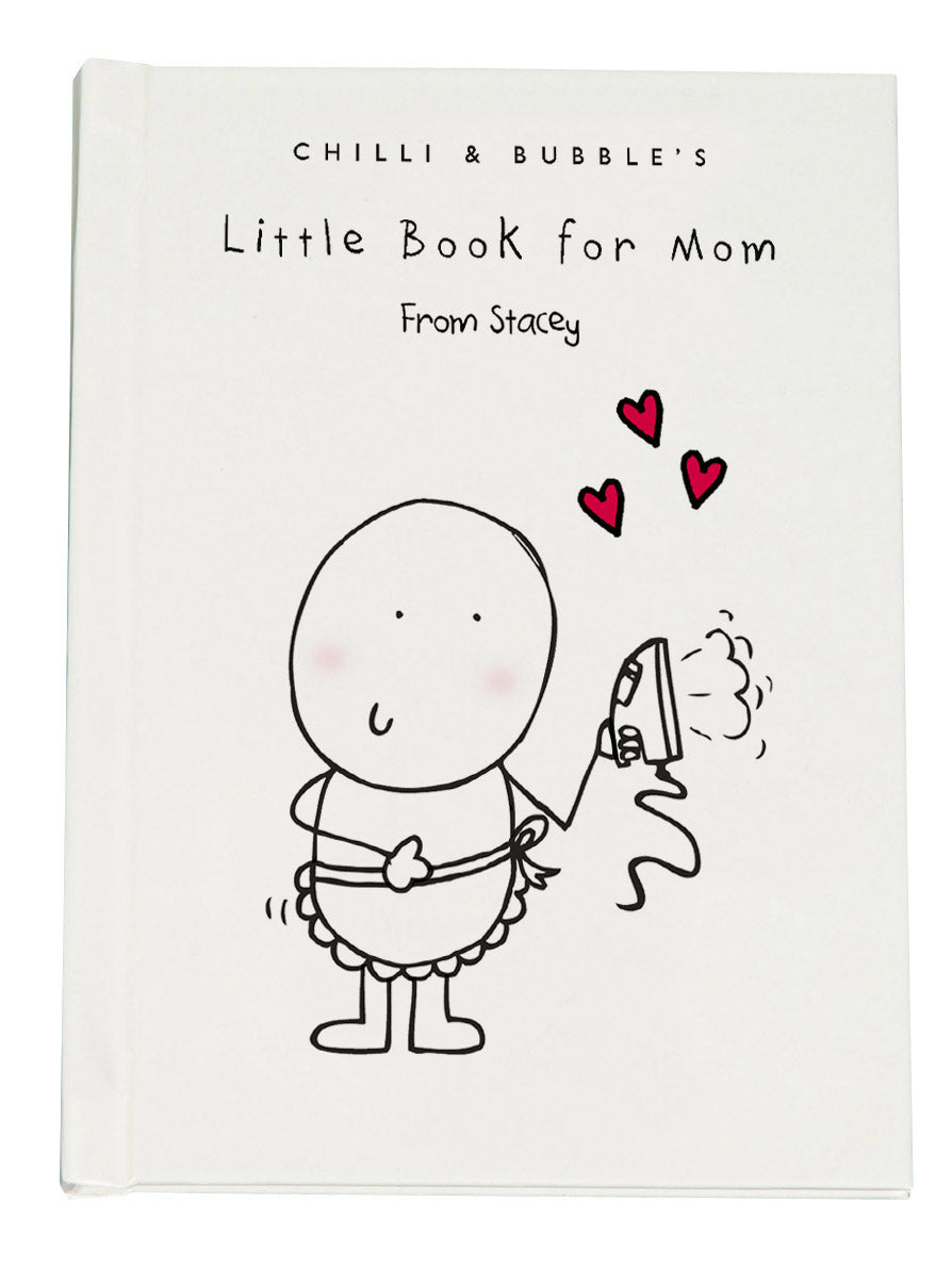 Chilli & Bubble Personalized Book For Mom - IsleOfGifts