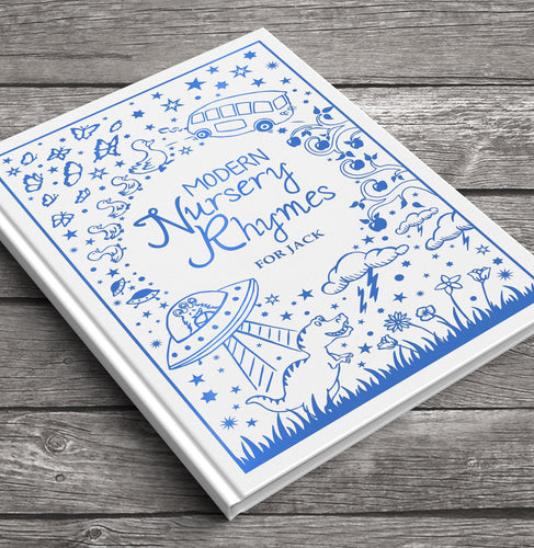Personalized Modern Nursery Rhymes Book - IsleOfGifts