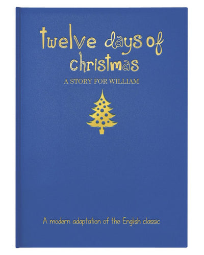 Personalized 12 Days of Christmas Book - IsleOfGifts