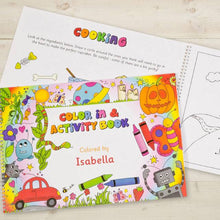 Load image into Gallery viewer, Personalized Color In Activity Book - IsleOfGifts