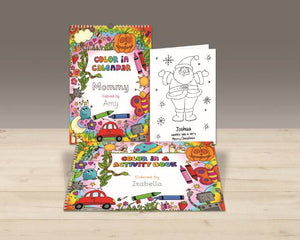 Personalized Color In Activity Book - IsleOfGifts