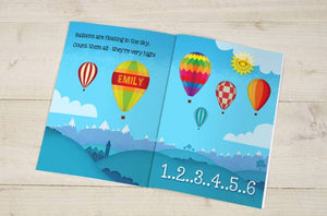 Personalized Counting Birthday Book(For Age 1 to 6 only) - IsleOfGifts