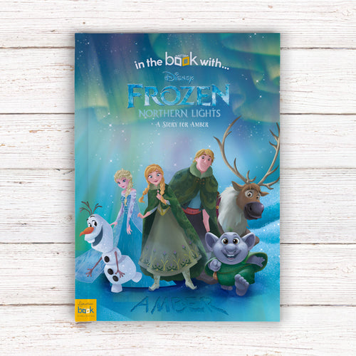 Personalized Disney Frozen Northern Lights StoryBook - IsleOfGifts