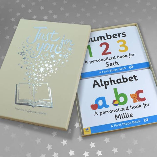 Alphabet & Numbers Board Book Gift Set - IsleOfGifts
