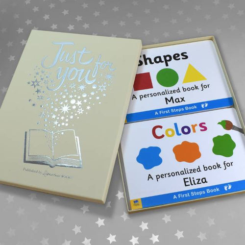 Shapes & Colors Board Book Gift Set - IsleOfGifts