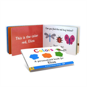 First Steps Colors Board Book for Toddlers - IsleOfGifts