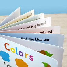 Load image into Gallery viewer, First Steps Colors Board Book for Toddlers - IsleOfGifts