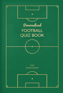 Personalized Soccer Quiz Book - IsleOfGifts